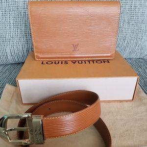Louis Vuitton Epi belt bag